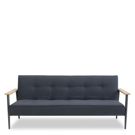 canapé de canapé 3 places design scandinave convertible osborn