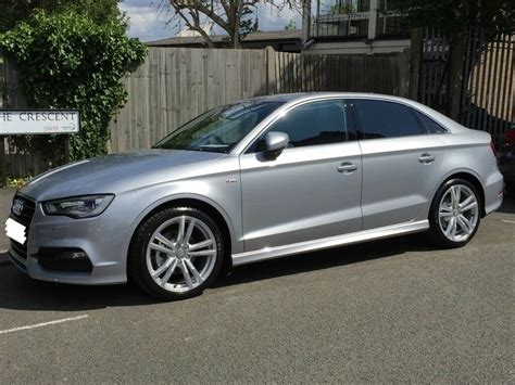 audi  saloon   tfsi cylinder  demand ps  tronic  floret silver