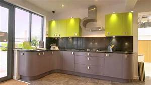 Kitchen Chic Lime Green Combo With Pink For Kitchen Color