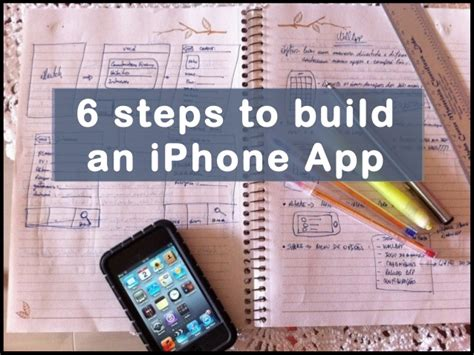 27942 how to make an app for iphone 044405 6 steps to build an iphone app