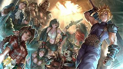 4k Remake Fantasy Final Characters Ultra Quad