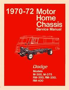 1970 1971 1972 Dodge Class A Motorhome Chassis Shop