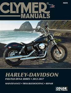 Clymer Manuals Harley Fld Dyna Series 2012