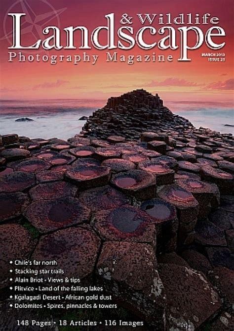 landscape photography magazine issue  photography blog