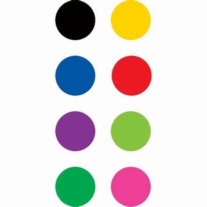 Circles Colorful Stickers Mini