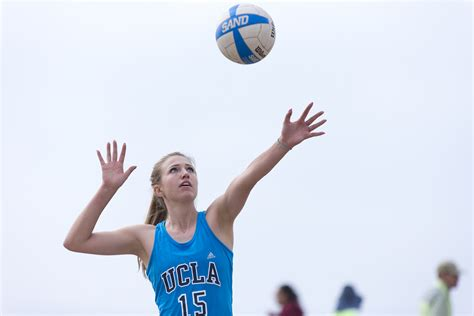 ucla sand volleyball finds redemption  triumph  lmu daily bruin