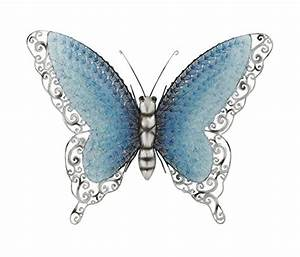 Vibrant, Unique and Trendy Metal Butterfly Wall Art