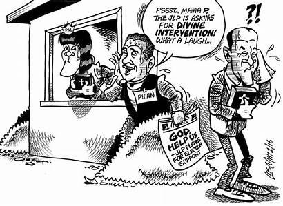 Jamaica January Sunday Gleaner Cartoon