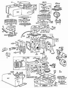 Briggs And Stratton 60700 Series Parts List And Diagram