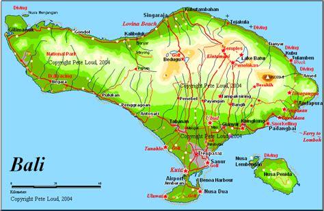 maps  bali lombok  peter loud