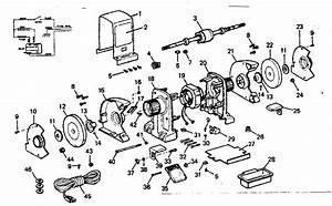Craftsman 1  2 H P  Bench Grinder Parts