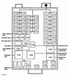 Fuse Box Diagram For 1999 Ford Windstar