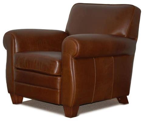 genuine high end leather club cigar chair chair only