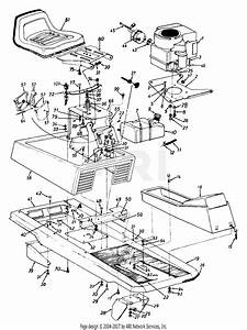 32 Mtd Riding Lawn Mower Parts Diagram