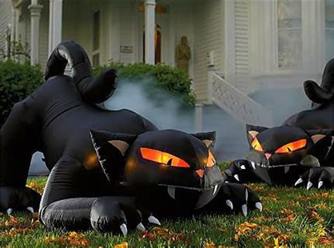 yards halloween yard decorations and scary on pinterest