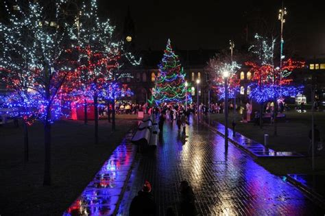 christmas lights switch on when are events taking place