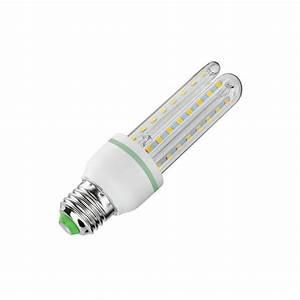 Ampoule E27 Led : ampoule led cfl e27 12w ledkia france ~ Edinachiropracticcenter.com Idées de Décoration