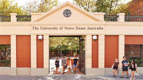 study  university  notre dame australia tean