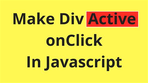 html div class javascript add active class to a div c java php