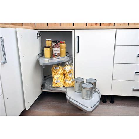 am駭agement meuble d angle cuisine rangement coulissant 2 paniers tirant gauche pour meuble d