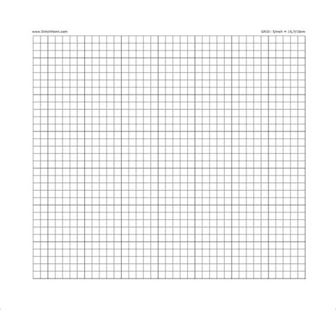 sample cross stitch graph paper   documents