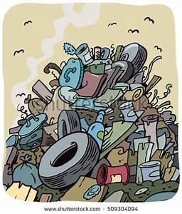 Cartoon Trash Can Stock Vector 415291447 - Shutterstock