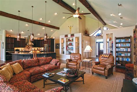 Vaulted Ceiling Recessed Lighting With Artistic Vaulted