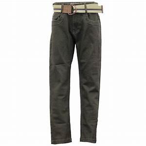 Boys Chino Jeans Kids Pants Trousers Bottoms Straight Leg Braces FREE BELT New   eBay