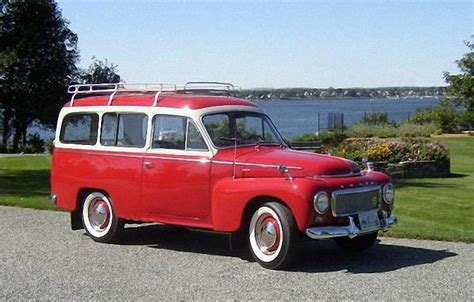 Red 1961 Volvo P210 Duett Wagon Photo | Volvo Car Pictures