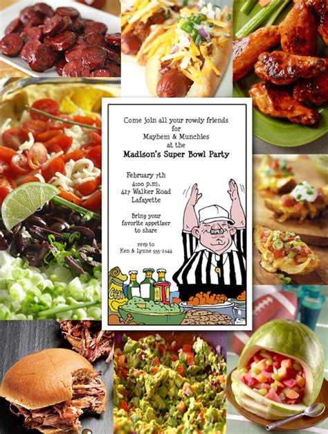 bowl food favorites super bowl party invitations favorite food recipes super bowl party party invitations and bowls