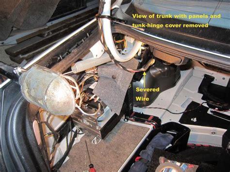 power  trunk  brake light  license plate lamps