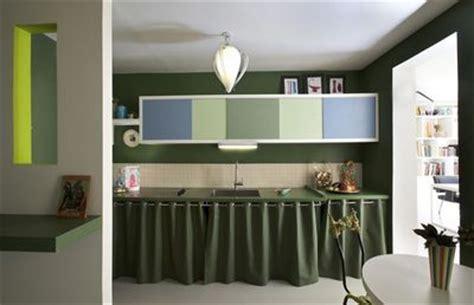 rideaux meuble cuisine ordinaire couleur murs cuisine avec meubles blancs 14