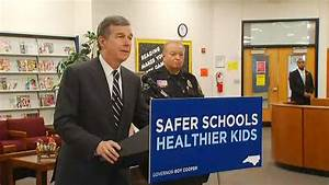 Governor Cooper talks school safety at TC Roberson | WLOS