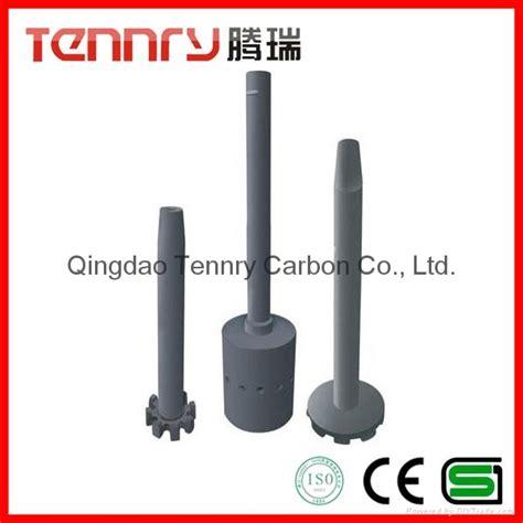 high carbon aluminum degasser graphite rotor tx tennry china manufacturer