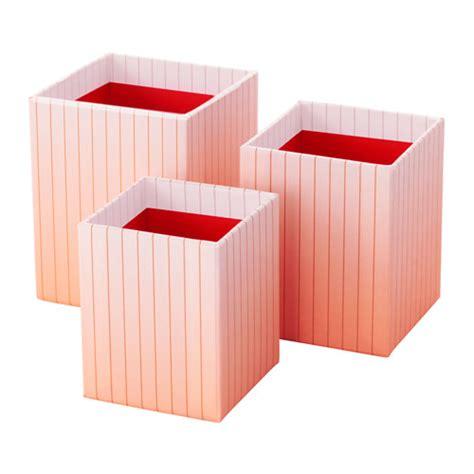 accessoires bureau ikea hejsan pen cup set of 3 ikea