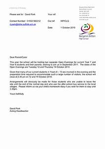 Early Closing Letter