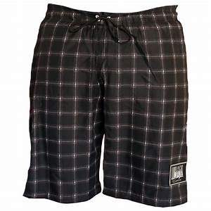 short bain carreaux capri grande taille homme allsize With short a carreaux homme