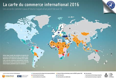 bureau du commerce international la carte du commerce international 2016 global trade map