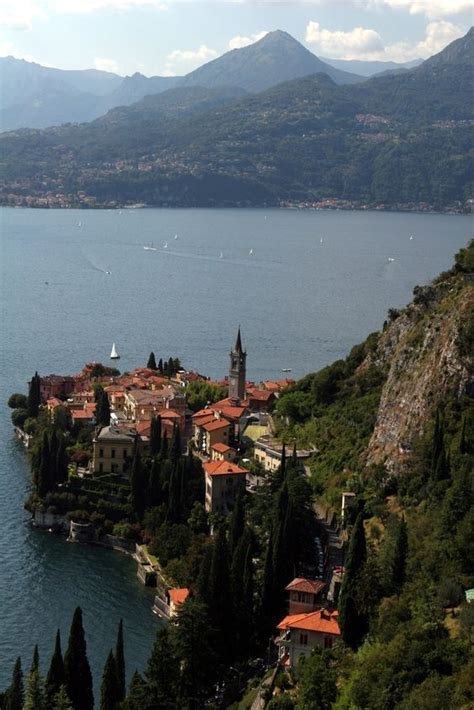 Varenna Lake Como Lombardy Italyand George Clooney