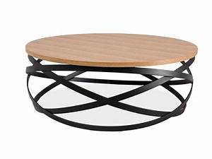 Couchtisch Rund Holz Metall : couchtisch beistelltisch holztisch eiche loft schwarz metall rund 80x80cm ebay ~ Bigdaddyawards.com Haus und Dekorationen
