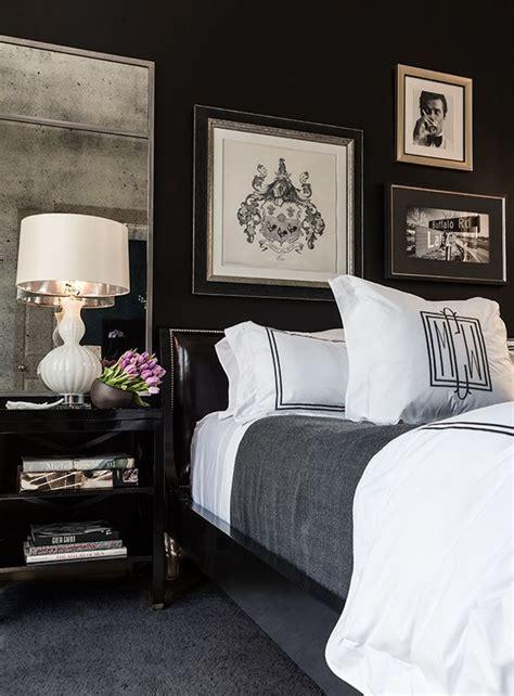 timeless black  white bedrooms