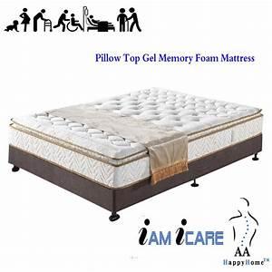 pillow top gel memory foam mattress With best memory foam pillow top mattress