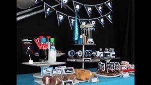 Creative Star wars birthday party decorations - YouTube