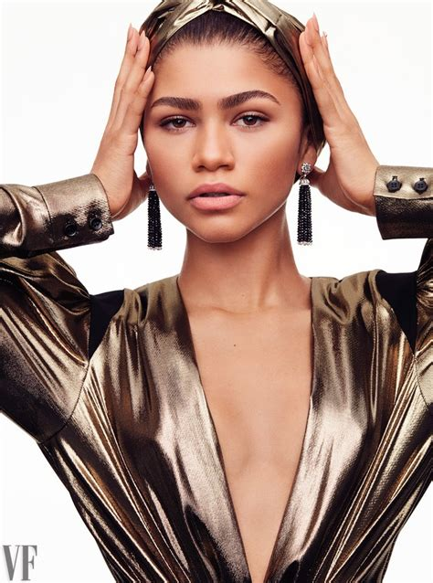 zendaya  vanity fairs hollywood issue vanities star