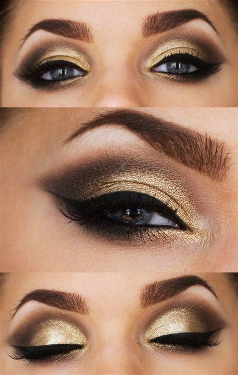 make up gold 15 best images about black white and gold on