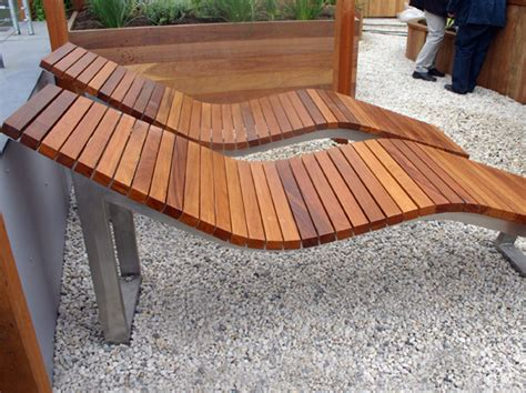 stainless steel and wood lounge chair skop by factory furniture