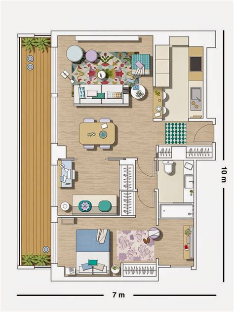 appartement 2 chambres plan appartement 2 chambres picslovin