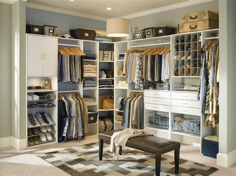 Closet Ideas by Walk In Closet Design Ideas Hgtv