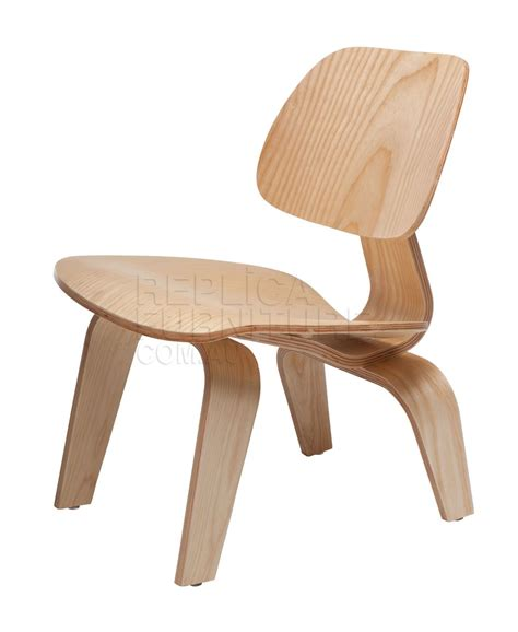 replica charles eames style plywood lounge chair