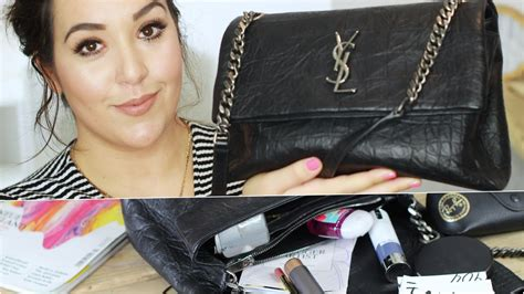 whats   bag  ysl monogram west hollywood fall   review deutsch youtube